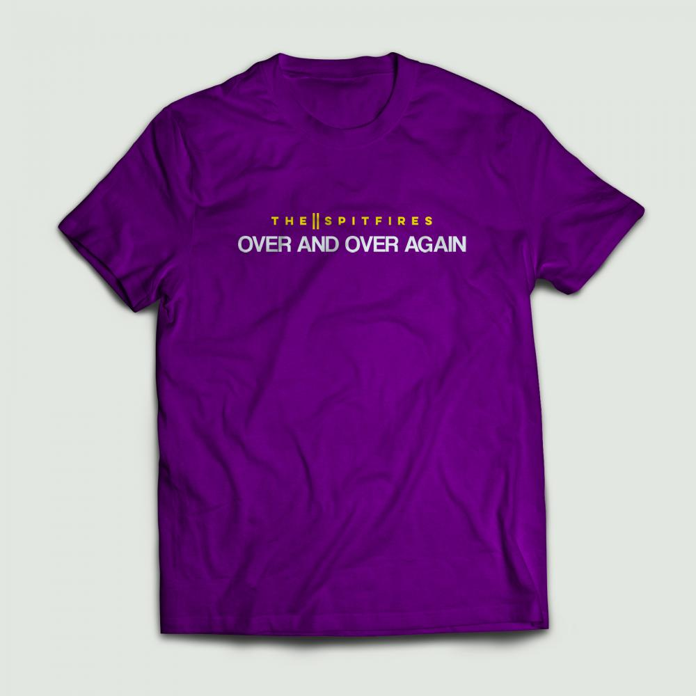 Buy Online The Spitfires - Over And Over Again T-Shirt