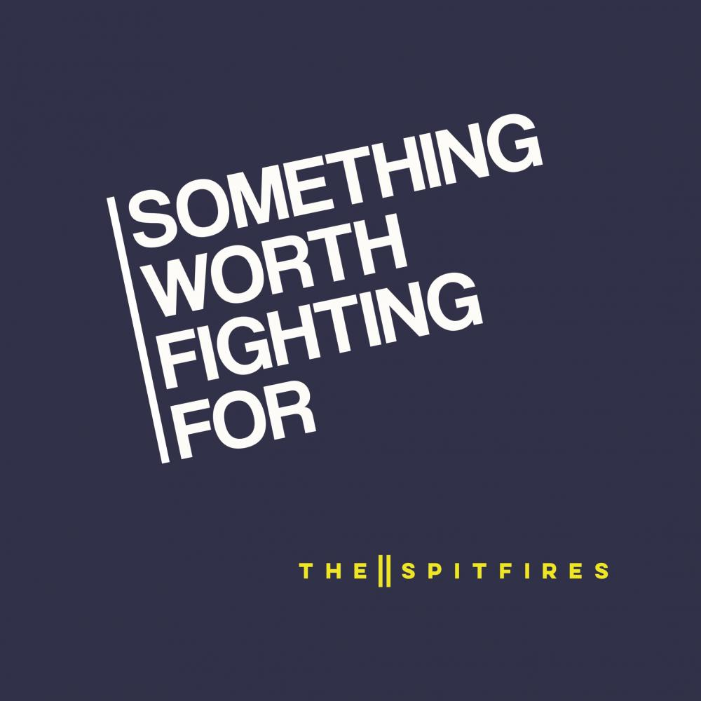 Buy Online The Spitfires - Something Worth Fighting For (Signed)