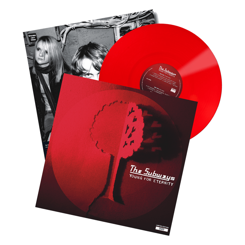 Buy Online The Subways - Young For Eternity Red with signed poster