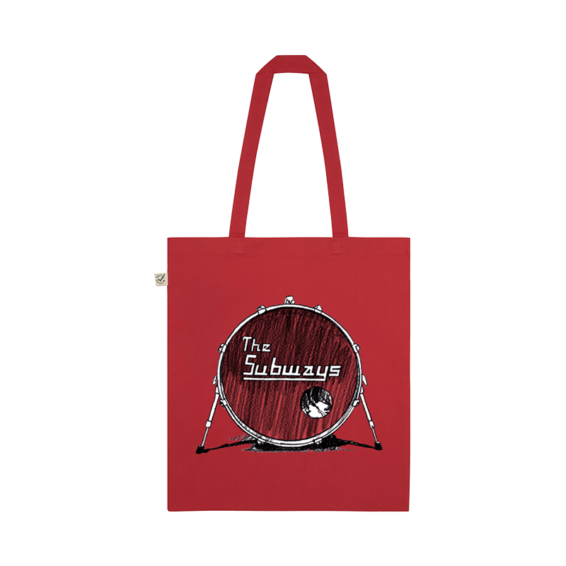 Buy Online The Subways - The Subways Red Tote Bag