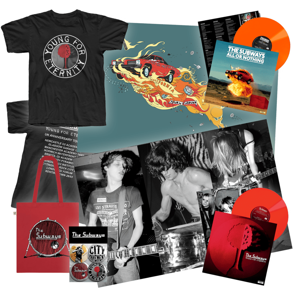 Buy Online The Subways - The Subways Anniversary Vinyl Big Bundle (includes both albums)