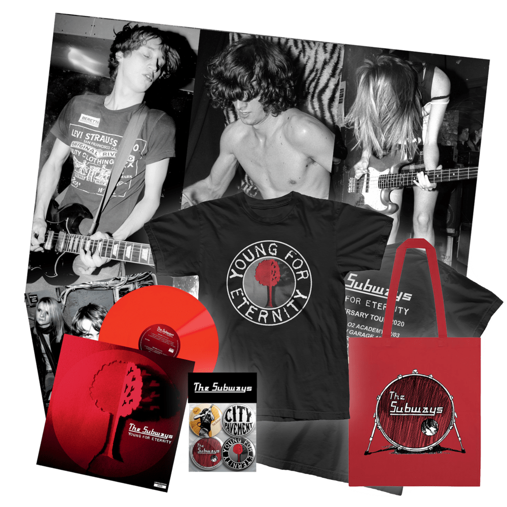 Buy Online The Subways - The 'Young For Eternity' Vinyl Bundle