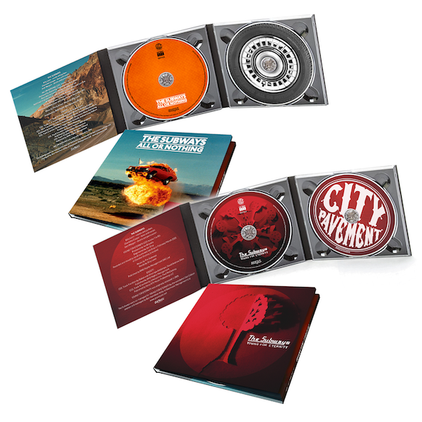 Buy Online The Subways - Albums Only (CD) bundle