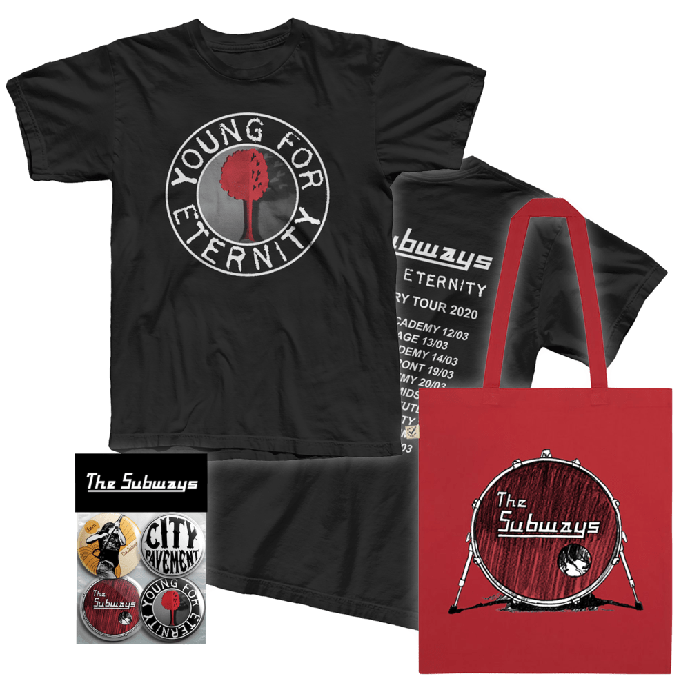 Buy Online The Subways - YFE Merchandise Bundle