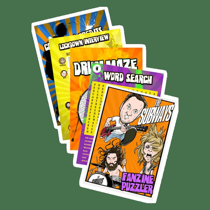 Buy Online The Subways - Fanzine Puzzler