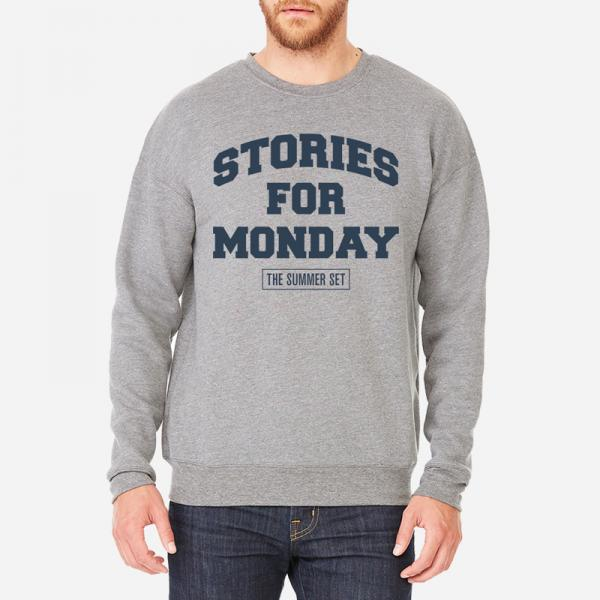 Buy Online The Summer Set - Stories For Monday Grey Sweatshirt