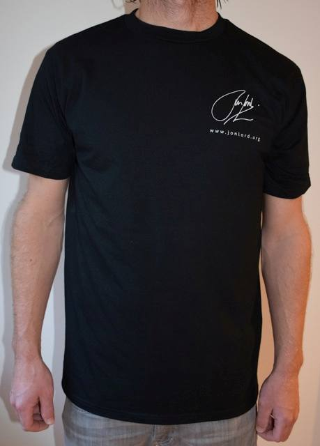 Buy Online The Sunflower Jam - Celebrating Jon Lord Black T-Shirt