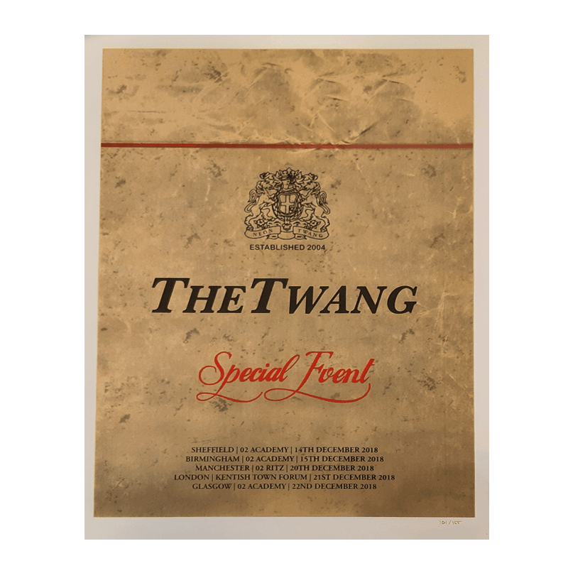 Buy Online The Twang - Limited Edition Benson Art Print