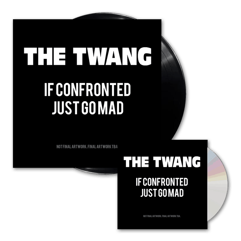 Buy Online The Twang - If Confronted Just Go Mad CD + Vinyl (Signed)
