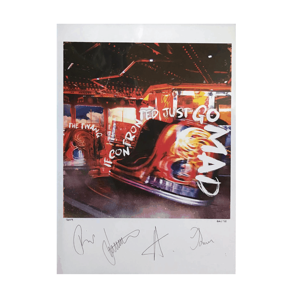 Buy Online The Twang - If Confronted Just Go Mad Signed & Numbered Print