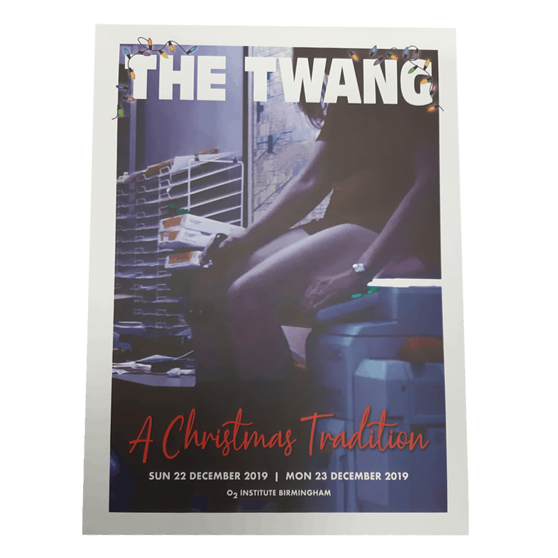 Buy Online The Twang - A Christmas Tradition Print