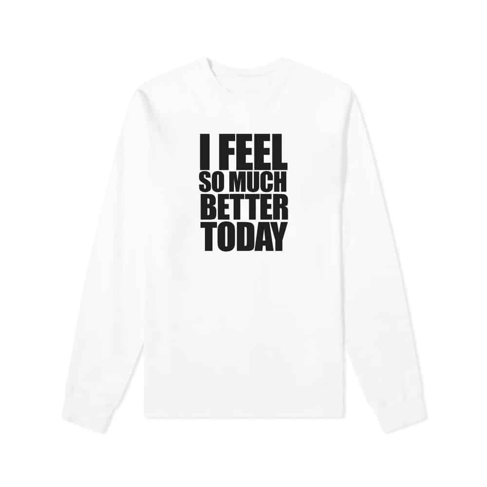 Buy Online The Twang - I Feel So Much Better Long Sleeve Tee