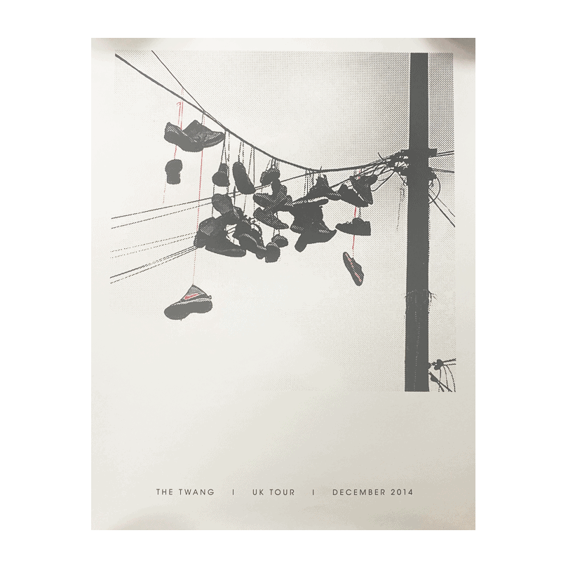 Buy Online The Twang - 'New Love' December Tour 2014 Print