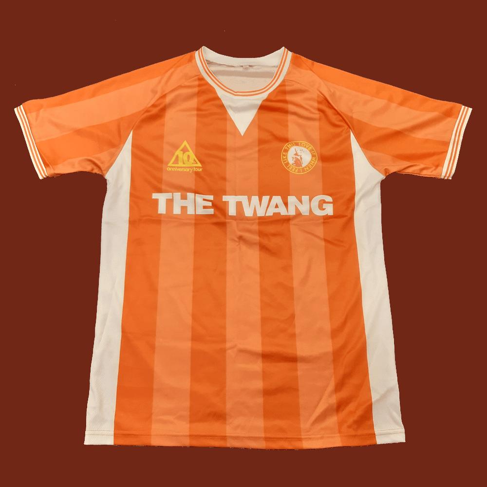 Buy Online The Twang - 10th Anniversary Tour Home Football Shirt