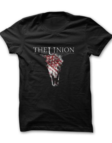 Buy Online The Union - Cow Skull T-Shirt