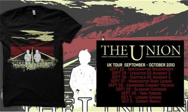 Buy Online The Union - Sept/Oct 2010 Tour T-Shirt
