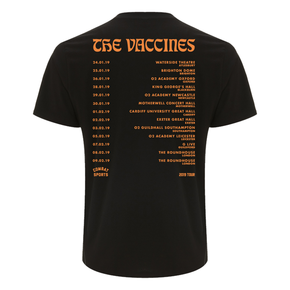 Combat Sports Album T-Shirt (Jan 19 Tour T-Shirt)