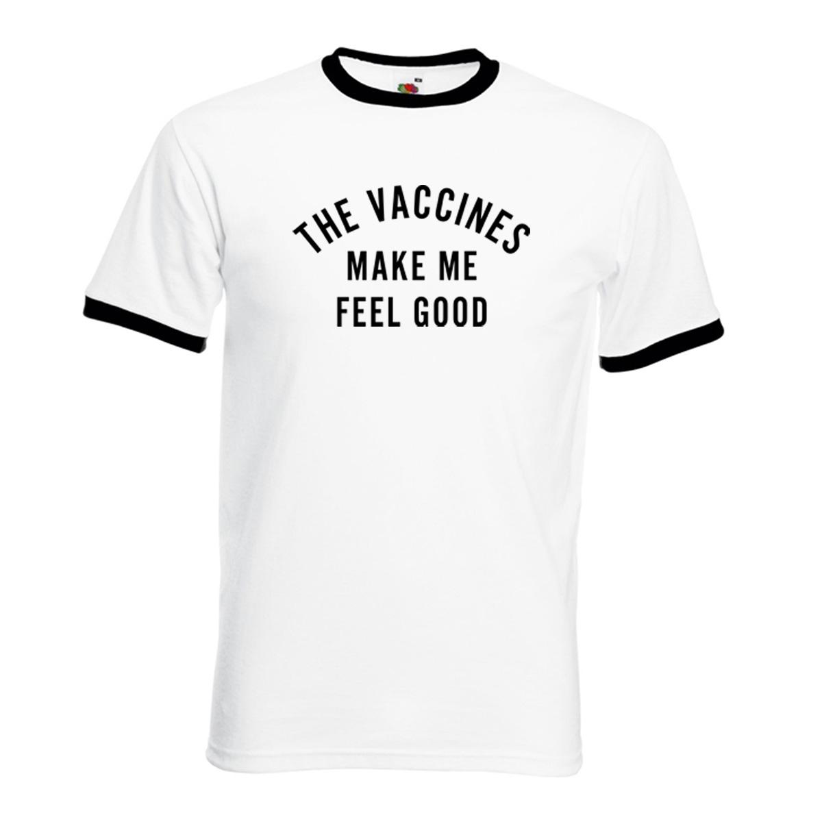 Buy Online The Vaccines - Make Me Feel Good White Ringer