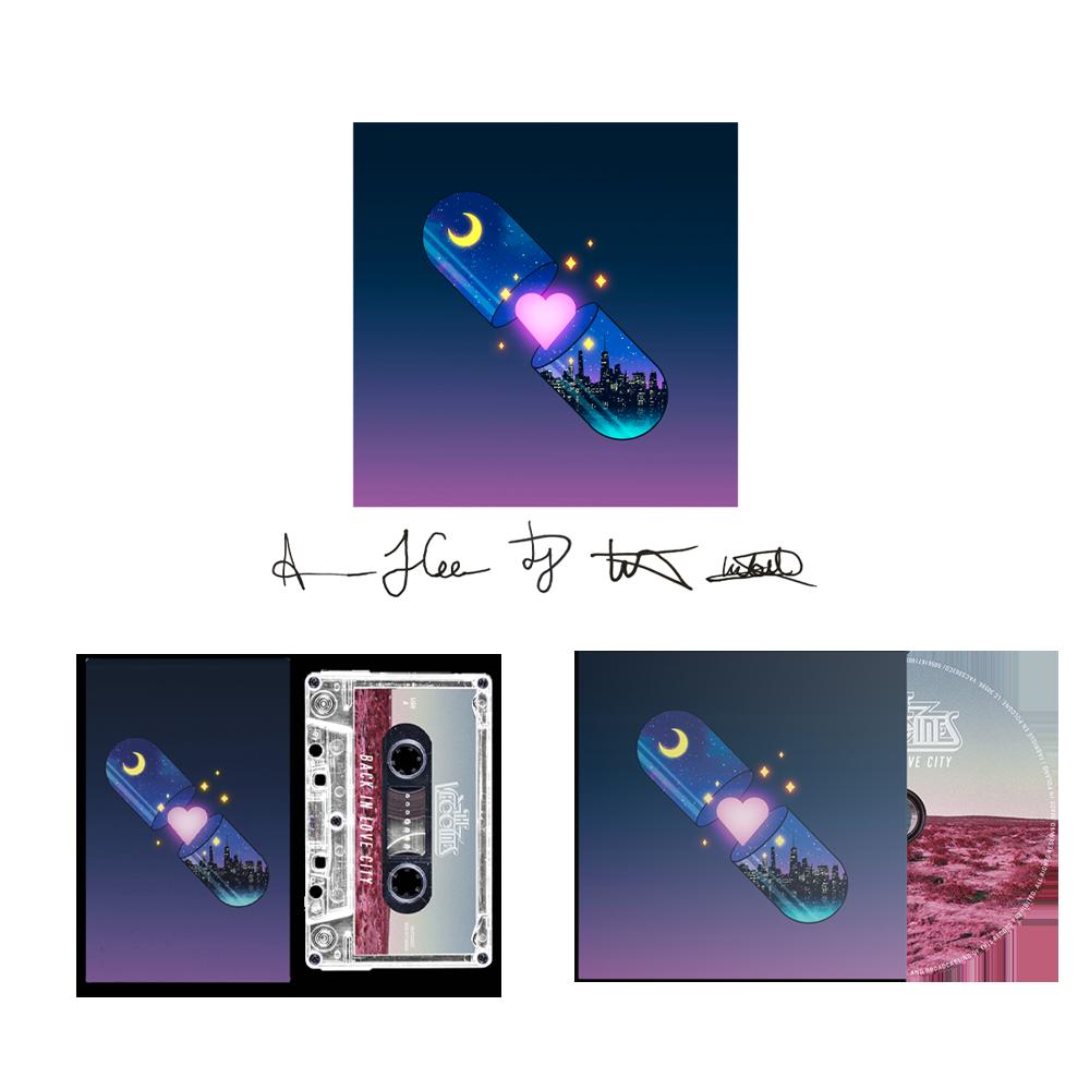 Buy Online The Vaccines - CD + Cassette (Inc Signed Artwork Print)