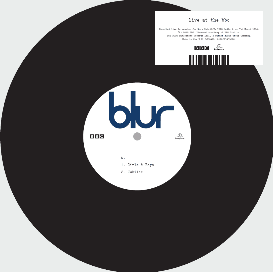 Buy Online Blur - Live At The BBC