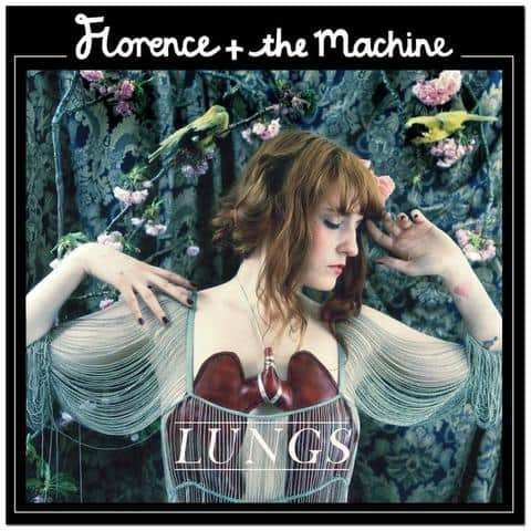 Buy Online Florence + The Machine - Lungs 10th Anniversary Edition Coloured