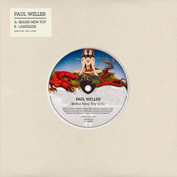 Buy Online Paul Weller - Brand New Toy 7-Inch Vinyl