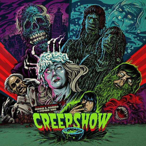 Buy Online John Harrison - Creepshow Green Vinyl (Original 1982 Score)
