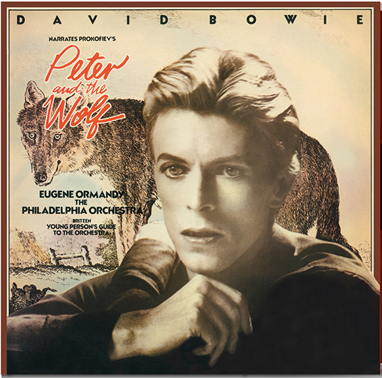 Buy Online David Bowie - Peter & The Wolf Limited Edition Numbered Coloured Vinyl