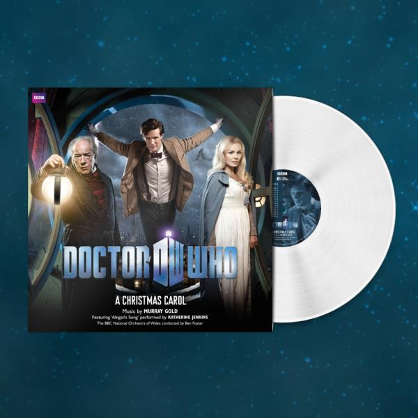 Buy Online Doctor Who - Doctor Who: A Christmas Carol Snow White Vinyl