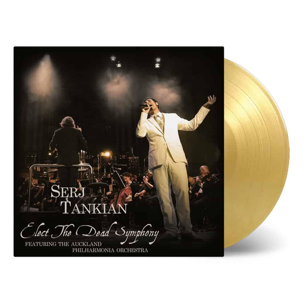 Buy Online Serj Tankian - Elect The Dead Symphony Gold Marble Double