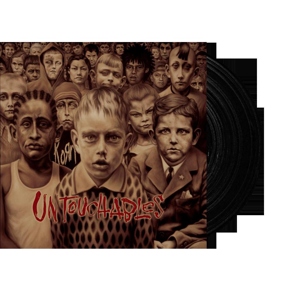 Buy Online Korn - Untouchables Black Double Vinyl