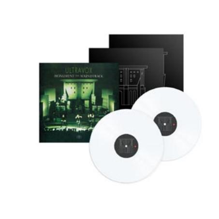 Buy Online Ultravox - Monument White Double Vinyl