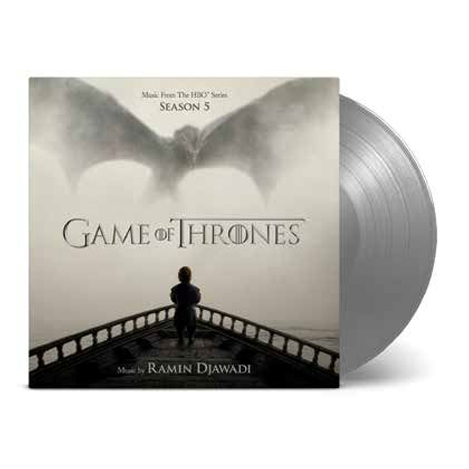 Buy Online Ramin Djawadi - Game Of Thrones Season Five OST White Walker Silver Double Vinyl