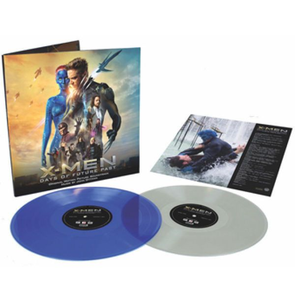 Buy Online Various Artists - X-Men: Days Of Future Past OST Coloured Double Vinyl