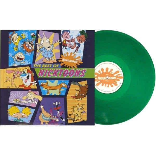 Buy Online Various Artists - The Best of Nicktoons OST Import Green Vinyl