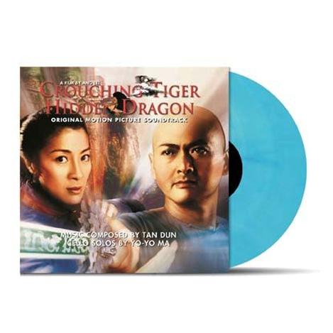 Buy Online Various Artists - Crouching Tiger Hidden Dragon OST Transparent Blue Vinyl