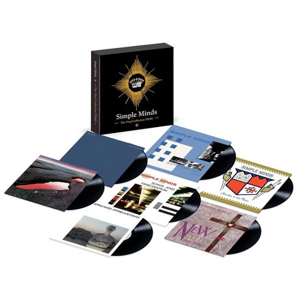 Buy Online Simple Minds - Simple Minds - The Vinyl Collection 1979 -1985