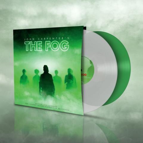 Buy Online John Carpenter - The Fog OST Green & White Fog Coloured Double Vinyl
