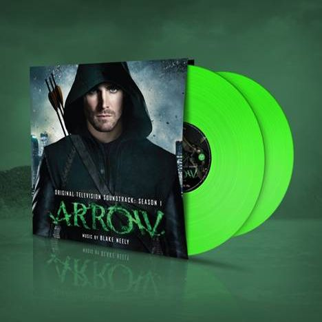 Buy Online Blake Neely - Arrow Season One OST Fluorescent Green Double Vinyl