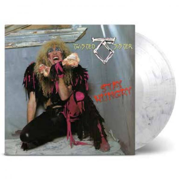 Buy Online Twisted Sister - Stay Hungry Coloured Vinyl