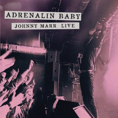 Buy Online Johnny Marr - Adrenalin Baby Live Double Vinyl (w/ Ltd Edition Poster)