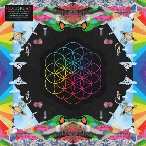 Buy Online Coldplay - A Head Full Of Dreams Double Vinyl