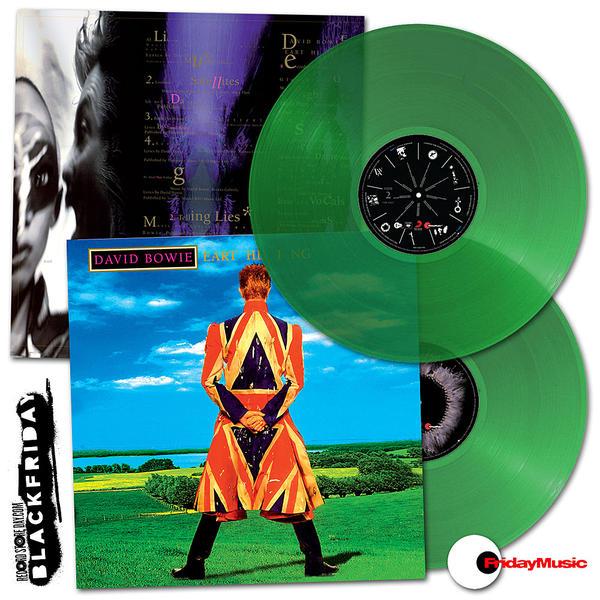 David Bowie - Earthling Green Vinyl (Import)