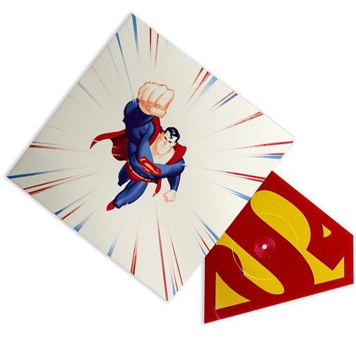 Buy Online Superman - The Animated Series Die Cut Vinyl Picture Disc