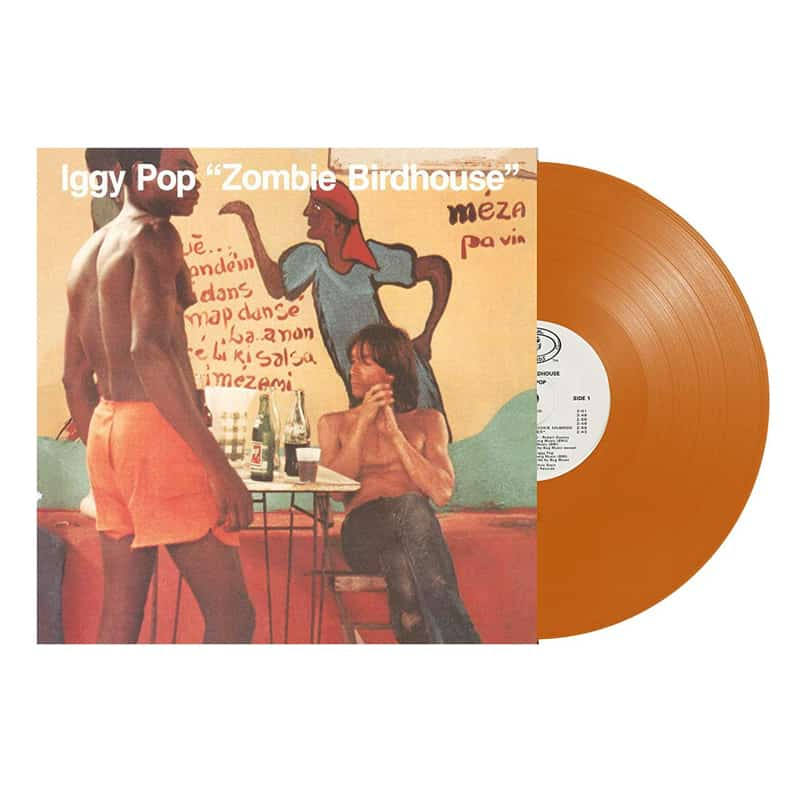 Buy Online Iggy Pop - Zombie Birdhouse Orange