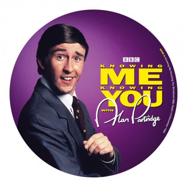 Buy Online Alan Partridge - Knowing Me Knowing You Vinyl Picture Disc