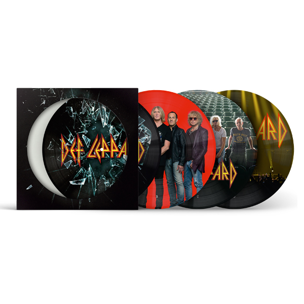 Buy Online Def Leppard - Def Leppard Double Vinyl Picture Disc