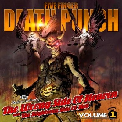 Buy Online Five Finger Death Punch - The Wrong Side Of Heaven & The Righteous Side Of Hell - Vol 1 & 2 Double Clear Vinyl