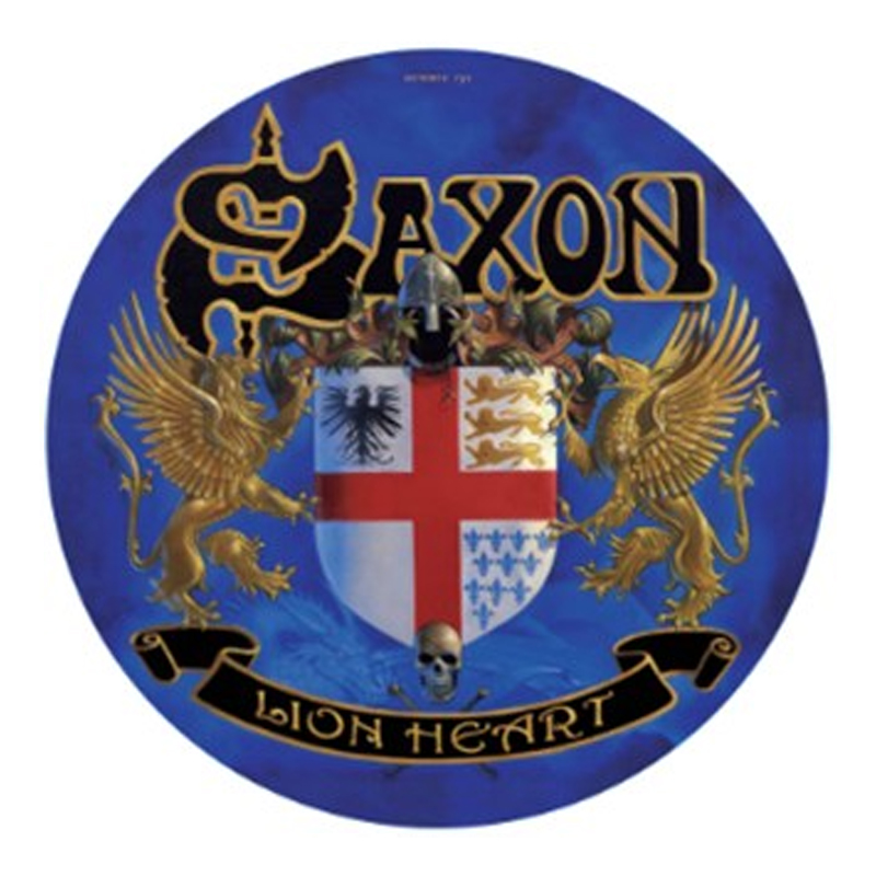 Buy Online Saxon - Lionheart Vinyl Picture Disc