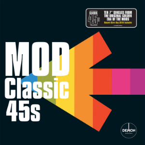 Buy Online Various Artists - Mod Classic 45s Boxset